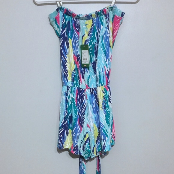 a2b5619678f Lilly Pulitzer Light As a Feather Ritz Romper